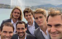Федерер ще играе на двойки в първия ден на Лейвър къп