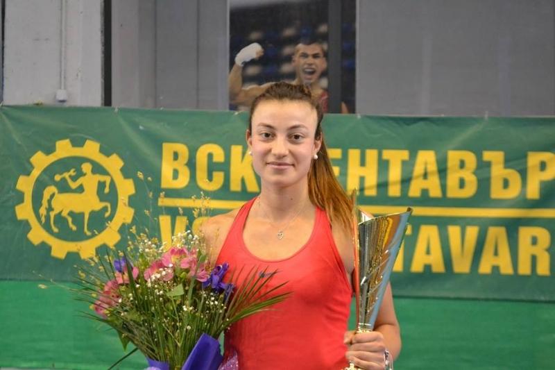 Аршинкова на победа от първа ITF титла на единично