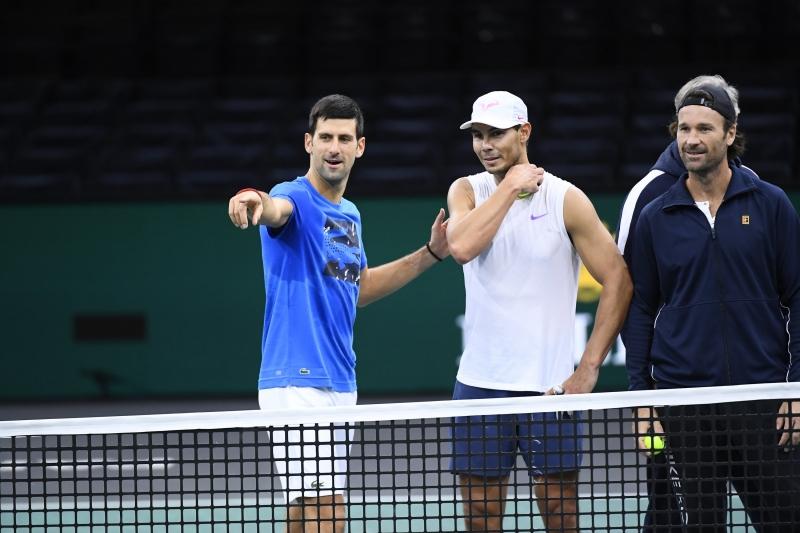 Джокович и Надал тренираха заедно Париж