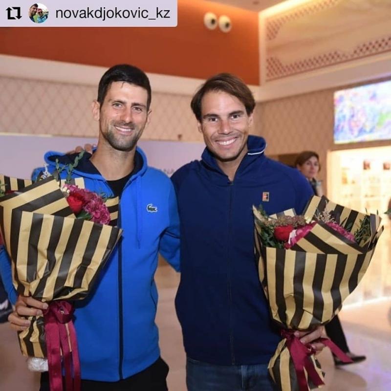 Надал победи Джокович в демо-мач в Казахстан