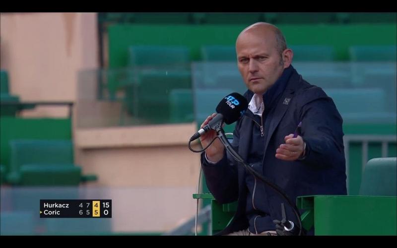 Наказаха съдия заради сексуални намеци към подaвачка и съвети към тенисист
