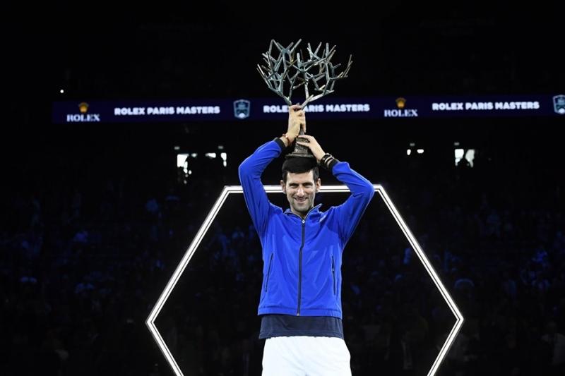 Джокович триумфира за пети път в Берси