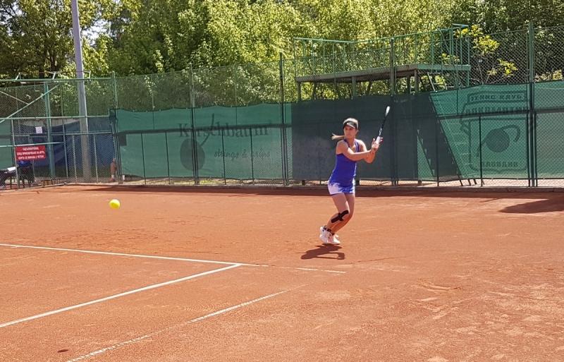 Гергана Топалова отпадна във втория кръг